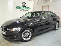 2014 BMW 3 SERIES 2.0 320d EfficientDynamics (s/s) 4dr £9494.00
