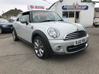 USED 2012 12 MINI HATCH COOPER 1.6 COOPER LONDON 2012 EDITION 3d 120 BHP London 2012, CHILI Pack, £3300 Extras, Heated Seats!