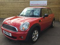 2010 MINI HATCH FIRST 1.6 FIRST 3d 75 BHP 1 PREVIOUS OWNER  £4299.00