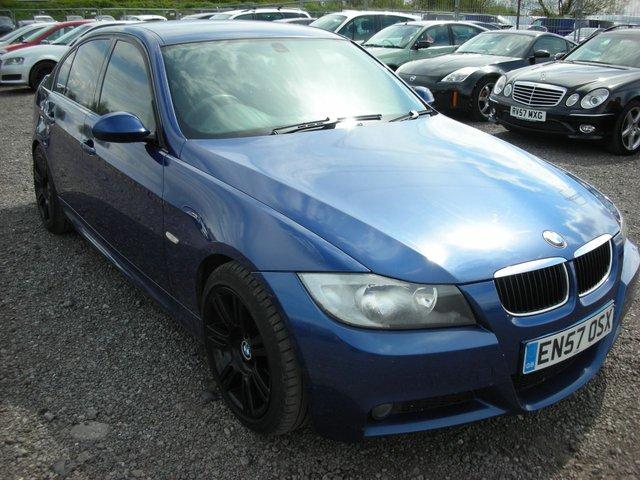 2008 57 BMW 3 SERIES 2.0 320D M SPORT 4d AUTO 174 BHP