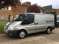 USED 2011 11 FORD TRANSIT 2.2TDCI T260 TREND SWB LOW ROOF 115BHP SILVER. ONLY 43,000 MILES. 1 OWNER. SUPER LOW MILES 43K. FSH. FINANCE. PX