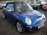 2006 MINI CONVERTIBLE 1.6 COOPER S 2d 168 BHP £3500.00