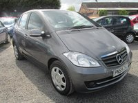 USED 2009 59 MERCEDES-BENZ A CLASS 1.5 A160 BLUEEFFICIENCY CLASSIC SE 5d 95 BHP