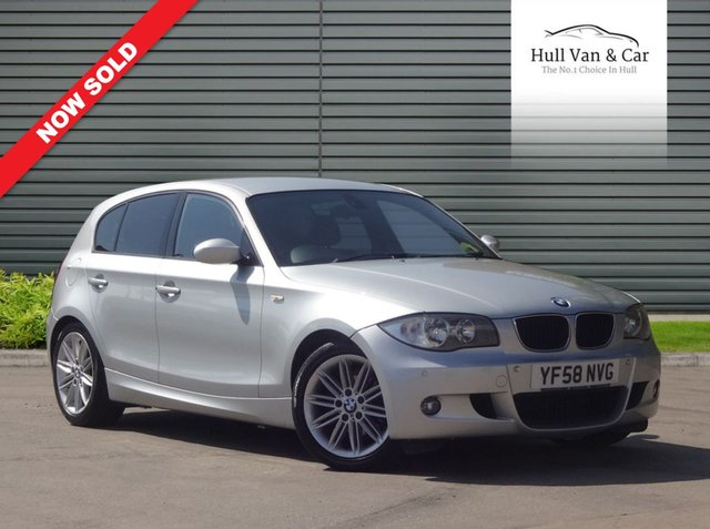 2009 58 BMW 1 SERIES 2.0 118D M SPORT 5d 141 BHP