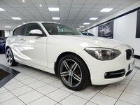 USED 2013 62 BMW 1 SERIES 1.6 114I SPORT FBMWSH 1 FORMER LADY KEEPER!