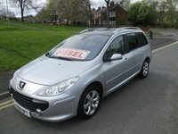 USED 2006 06 PEUGEOT 307 1.6 SW SE HDI 5d 89 BHP 112,000 GUARANTEED MILES - DIESEL - ESTATE - LOTS OF SERVICE HISTORY