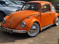 USED 1972 VOLKSWAGEN BEETLE 1.2 1200 A 2d  Restored, Finished in ST Electric orange.
