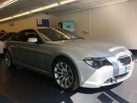 USED 2007 57 BMW 6 SERIES 3.0 630I SPORT 2d 255 BHP FULL SERVICE HISTORY, 12  STAMPS, GREAT SPEC WITH OVER £4,000 OF FACTORY EXTRAS
