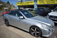 USED 2011 60 MERCEDES-BENZ E CLASS 2.1 E220 CDI BLUEEFFICIENCY SPORT 2d AUTO 170 BHP THE CAR FINANCE SPECIALIST