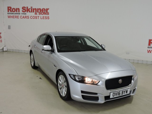 View our 2016 16 JAGUAR XE 2.0 PRESTIGE 4d AUTO 161 BHP with Cold Climate Pack + Memory Pack