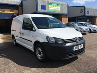 2015 VOLKSWAGEN CADDY MAXI 1.6 C20 TDI STARTLINE BLUEMOTION TECHNOLOGY 1d 101 BHP £7350.00