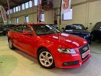 USED 2010 10 AUDI A4 2.0 TDI E 4d 134 BHP
