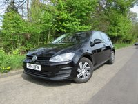 2014 VOLKSWAGEN GOLF 1.2 S TSI BLUEMOTION TECHNOLOGY 5d 103 BHP £7995.00