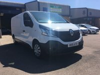 2015 RENAULT TRAFIC 1.6 LL29 BUSINESS DCI S/R P/V 1d 115 BHP £9500.00
