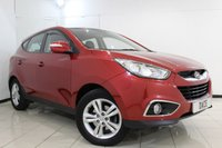 USED 2010 60 HYUNDAI IX35 2.0 STYLE CRDI 5DR 134 BHP FULL SERVICE HISTORY + PARKING SENSOR + HEATED SEATS + BLUETOOTH + AUXILIARY PORT + AIR CONDITIONING + 17 INCH ALLOY WHEELS