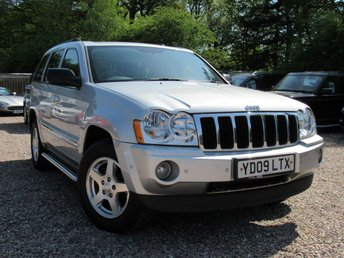 2009 JEEP GRAND CHEROKEE 3.0 V6 CRD LIMITED 5d AUTO 215 BHP £7490.00