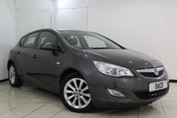USED 2012 12 VAUXHALL ASTRA 1.6 ACTIVE 5DR 113 BHP HALF LEATHER SEATS +CRUISE CONTROL + MULTI FUNCTION WHEEL + AIR CONDITIONING + RADIO/CD + 17 INCH ALLOY WHEELS
