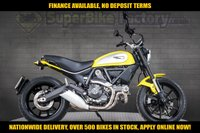 USED 2017 17 DUCATI SCRAMBLER ICON 803CC GOOD & BAD CREDIT ACCEPTED, OVER 500+ BIKES IN STOCK