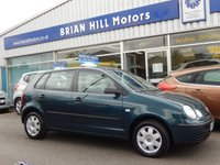 USED 2004 53 VOLKSWAGEN POLO 1.4 TWIST 5dr