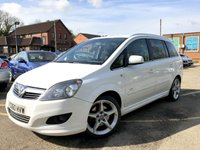 2010 VAUXHALL ZAFIRA 1.9 SRI XP CDTI 5d FULL EXTERIOR PACK ONLY 2 FORMER KEEPERS  £5990.00