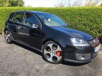 USED 2008 08 VOLKSWAGEN GOLF 2.0 GTI 5d 197 BHP,  FULL VW SERVICE HISTORY, ONLY 2 OWNERS FROM NEW