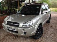 2007 HYUNDAI TUCSON 2.0 XENITH 4WD 5d 139 BHP £3495.00