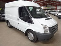 2011 FORD TRANSIT 2.2 280 SHR  85 BHP -ONE OWNER-SERVICE HISTORY- AIR CON & QUALITY SHELVING - £7495.00