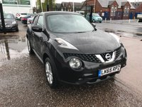 2015 NISSAN JUKE 1.6 ACENTA XTRONIC 5d AUTO 117 BHP JUST ARRIVED £10999.00