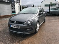 2014 VOLKSWAGEN POLO 1.2 R-LINE STYLE AC 5d 69 BHP JUST ARRIVED £7999.00