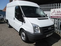 2011 FORD TRANSIT 260 SWB Medium high roof 85 PS *ONLY 27000 MILES* £7500.00