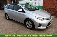 USED 2015 64 TOYOTA AURIS 1.4 ACTIVE D-4D 5d 89 BHP +ONE Owner +FSH +LOW Tax.