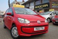 2013 VOLKSWAGEN UP 1.0 MOVE UP 5d AUTO 59 BHP £SOLD