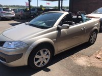USED 2007 07 RENAULT MEGANE 2.0 DYNAMIQUE VVT 2d 136 BHP COUPE CABRIOLET CONVERTIBLE ONLY 26K MILES