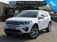 USED 2015 15 LAND ROVER DISCOVERY SPORT 2.2 SD4 HSE 5d AUTO 190 BHP 1 Owner From New, VAT Q