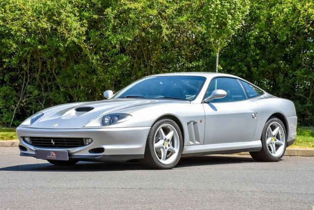 1998 FERRARI 550 5.5 MARANELLO 2d 437 BHP