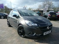2015 VAUXHALL CORSA 1.4 LIMITED EDITION 3d 89 BHP £SOLD