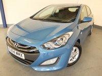 2014 HYUNDAI I30 1.6 ACTIVE BLUE DRIVE CRDI 5d 109 BHP £6690.00