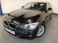 2013 BMW 1 SERIES 1.6 116D EFFICIENTDYNAMICS 5d 114 BHP £7790.00