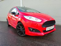 USED 2016 66 FORD FIESTA 1.0 ZETEC S RED EDITION 3d 139 BHP