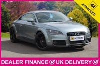 USED 2010 59 AUDI TT 2.0 TFSI S LINE COUPE SPECIAL EDITION 200 BHP HALF BLACK LEATHER AIR CON BLUETOOTH BOSE SOUND