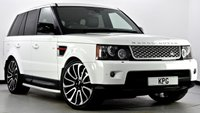 "USED 2012 62 LAND ROVER RANGE ROVER SPORT 3.0 SD V6 HSE Red Edition 4X4 5dr Auto [8] Digital TV, Reverse Cam, 22""s"