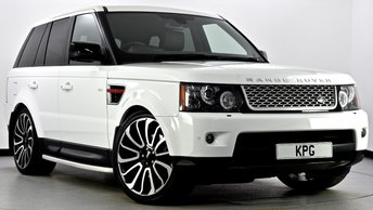 2012 LAND ROVER RANGE ROVER SPORT 3.0 SD V6 HSE Red Edition 4X4 5dr Auto [8] £24495.00