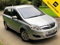 2011 VAUXHALL ZAFIRA 1.7 ELITE CDTI ECOFLEX 5d 108 BHP £3990.00