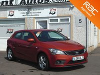 USED 2011 61 KIA CEED 1.6 PRO CEED 2 ECODYNAMICS CRDI 3d 89 BHP 5 Service Stamps ,Bluetooth, Cruise control,Air conditioning