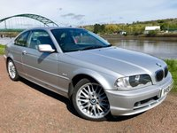 USED 2000 V BMW 3 SERIES 2.5 323CI SE 2d 168 BHP **FULL GREY LEATHER INTERIOR**