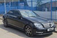 2012 MERCEDES-BENZ C CLASS 2.1 C220 CDI BLUEEFFICIENCY AMG SPORT PLUS 4d AUTO 168 BHP £10495.00