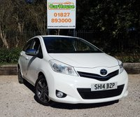 USED 2014 14 TOYOTA YARIS 1.3 VVT-I TREND 5dr Reverse Camera, Bluetooth