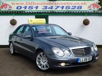 2008 MERCEDES-BENZ E CLASS 3.0 E280 CDI SPORT 4d AUTO 187 BHP £5999.00