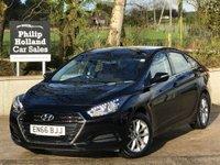 2016 HYUNDAI I40 1.7 CRDI S BLUE DRIVE 4d 139 BHP £10495.00