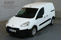 USED 2014 14 PEUGEOT PARTNER 1.6 HDI PROFESSIONAL 850 89 BHP SWB A/C ONE OWNER FROM NEW, SERVICE HISTORY